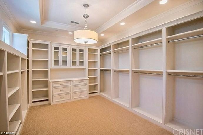Her closet is legit bigger than some studio apartments.