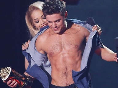 REJOICE! Zac Efron will go full frontal
