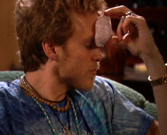 "**Spencer Pratt** ** ** **THEN** ** ** From the get go we didn't like this guy. He was always gallivanting around with other girls as soon as he started dating Heidi. We knew. And LC knew. But Heidi didn't. Then they moved in together and he spread a ""sick little rumour"" about Lauren and Jason. Whaaaat a dick. Then he got really obsessed with crystals."