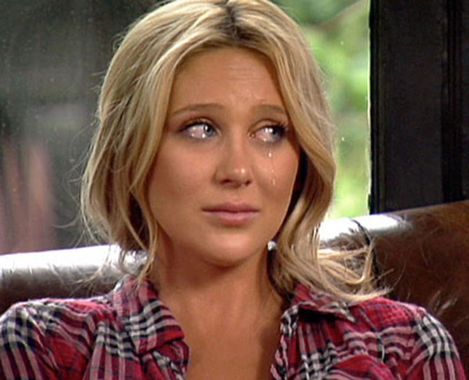 **Stephanie Pratt** ** ** **THEN** ** ** Spencer's poor sister Stephanie spent most of her time on the show crying about the horrible things her brother was doing to her. Which, to be honest, was pretty warranted. He was an absolute [bleep] to her. Remember that scene where he goes off at her, and Heidi just…sits…there, with a blank look on her face? Fun times.