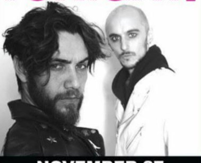 **NOW** ** ** Still a #rockstar, Justin Bobby (okay, real name is Justin Brescia) is in some band called Bobby Rock and he's chopped off his locks. Question still remains as to whether he still rides that stupid ass motorbike.
