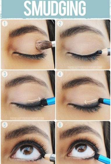 "**Smudge Away**   Make your makeup look instantly sexier by smudging and softening your eyeliner.   Get the tutorial at [The Beauty Department.](http://thebeautydepartment.com/2013/08/a-lesson-in-smudging/|target=""_blank"")"