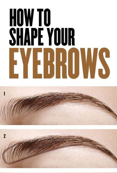 "**Shape your brows.**   Filling in your eyebrows doesn't have to be a lengthy process. Keep it simple by using a brow powder or pencil to define a bottom line, and then smudge upward and blend.   Get the tutorial at [Covergirl.](https://au.pinterest.com/pin/486318459738362547/|target=""_blank"") ** **"