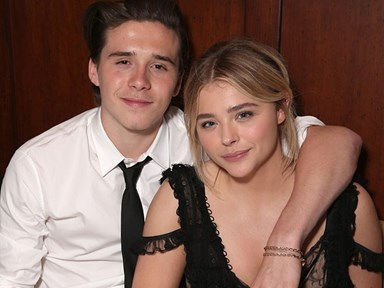 Chloë Grace Moretz and Brooklyn Beckham met in a totally normal way