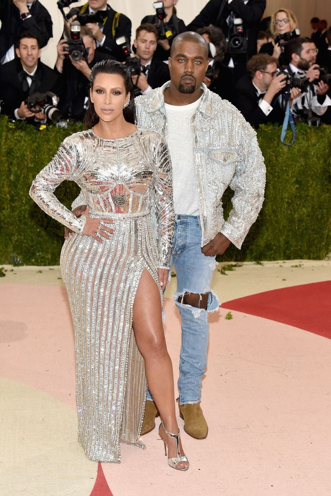 "We'll never forget this Met Gala moment. Mainly because Kanye was just all... ""vibes."""