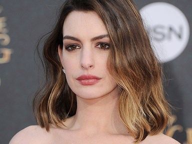 Watch Anne Hathaway murder James Corden in a rap battle