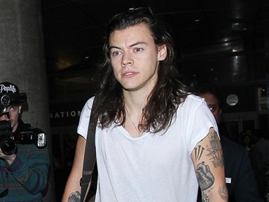 Here's Harry Styles as you've never seen him before