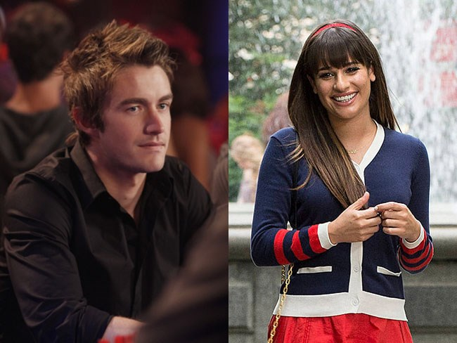 **Clay Evans from *One Tree Hill* and Rachel Berry from *Glee*** <3 <3 <3