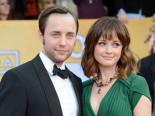 """...IRL they are cute as pie. Vincent Kartheiser and Alexis Bledel are married and have [just welcomed their first child. ](http://www.cosmopolitan.com.au/celebrity/celebrity-gossip/2016/5/alexis-bledel-aka-rory-gilmore-is-a-mum/