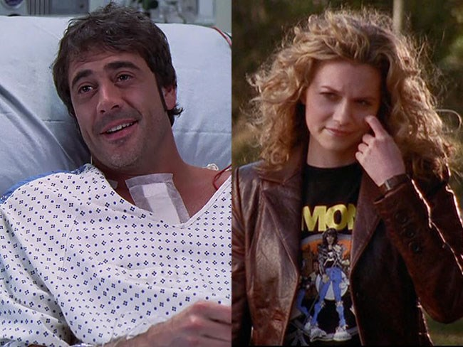 **Denny from *Grey's Anatomy* and Peyton Sawyer from *One Tree Hill*** Ok, this one is definitely more on the obsure side.