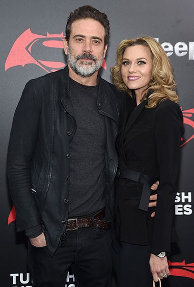 But the man responsible for an extremely sad *Grey's* scene, Jeffrey Dean Morgan, is also married to Hilarie Burton and they have a little boy. Ahhh.