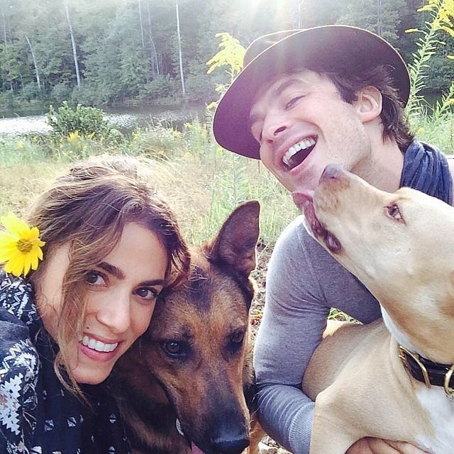 Nikki  Reed and Ian Somerhalder really are human perfection, right?!
