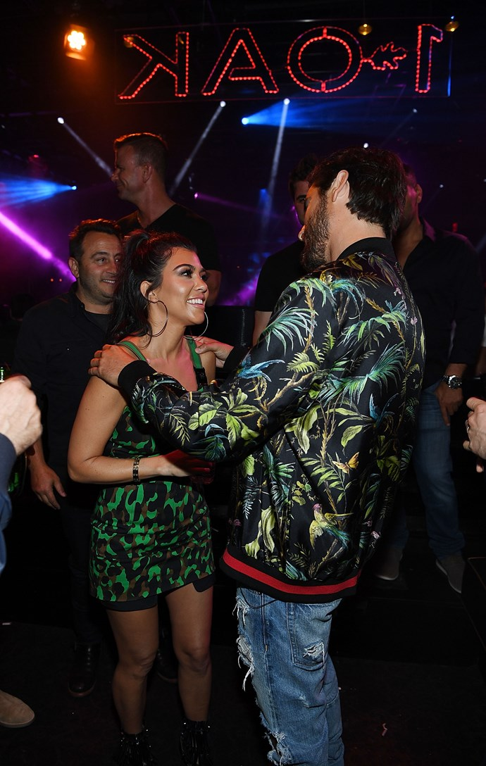 We might be reading into this sweet moment between Kourtney and Scott a little too much, but ... are they falling back in love? It's definitely maybe.