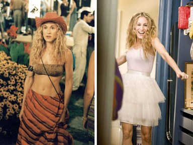 52 Carrie Bradshaw fashion moments that are fabulous no matter what the haters say