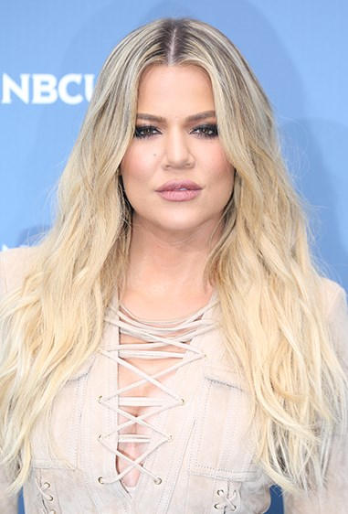 Khlo's tried creamy blonde - and we have to admit, it looks INCREDIBLE.