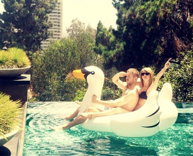 **June 2015** #Swangoals was born and the first official insta pic of Talvin together. What a time June 2015 was to be alive.