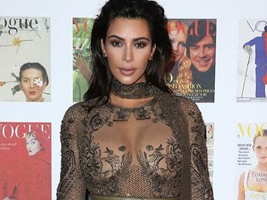 Kim Kardashian is trying to break the internet again
