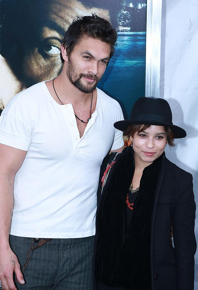 ICYMI, Jason Momoa is Zoe Kravitz's step-father. Yes, that's right, that does mean he's taken. But more on that later...