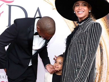 Blue Ivy walked the red carpet with her parents and we are literally dead