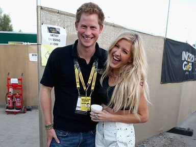 Ellie Goulding and Prince Harry's polo match PDA has us all kinds of excited