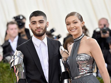 Gigi Hadid basically confirms she and Zayn are back together using Nutella