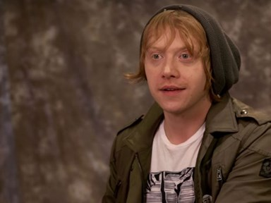 Watch Harry Potter stars get sorted into their houses IRL
