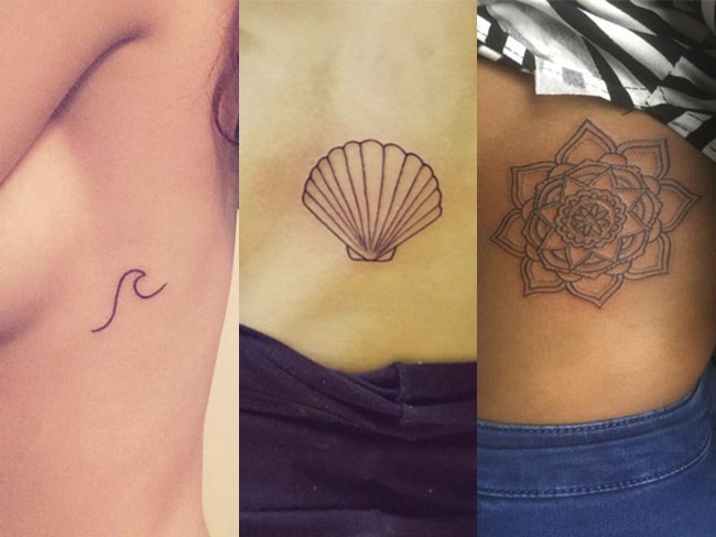 Side boob tattoos