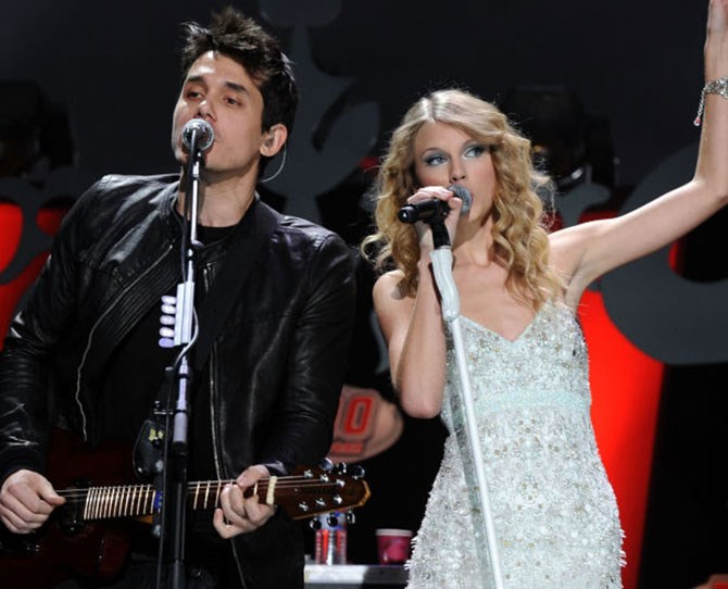 **8. John Mayer: Dated Taylor December 2009-February 2010** John Mayer. The eponymous 'hero' of the 2010 hit, 'Dear John' which explored important themes of love, loss and sheer debauchery.We were never going to root for John and Taylor. We're probably never going to root for John Mayer and anyone, To be honest. The dirty dog is said to cheat his way around beautiful girlfriends, after all. Also, we can't help but think his romantic involvement with both Swifty and Katy Perry is a contributing factor to them hating each other. Sad but true.
