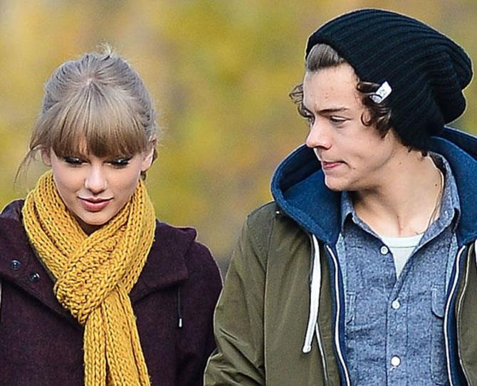 **3. Harry Styles: Dated Taylor December 2012-January 2013** Perhaps an unpopular choice for the Directioners among us, but we thought they were darn adorable. But c'mon, Harry Styles and T-Swizzle were never going to last. They were like yin and yang, flora and fauna, beige and luminous pink...