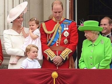 Prince William got in trouble from the Queen and Prince George's response is everything