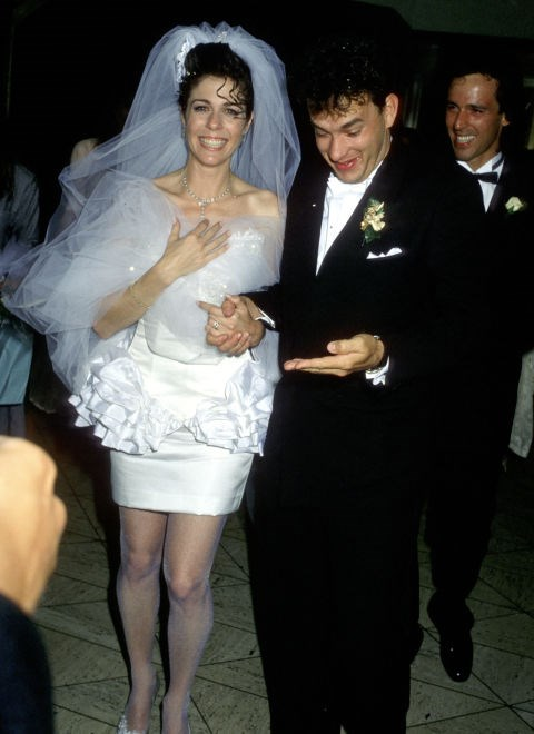 """**1988: RITA WILSON**   When Rita Wilson walked down the aisle with [Tom Hanks](http://www.goodhousekeeping.com/life/entertainment/g2589/tom-hanks-best-movie-quotes/