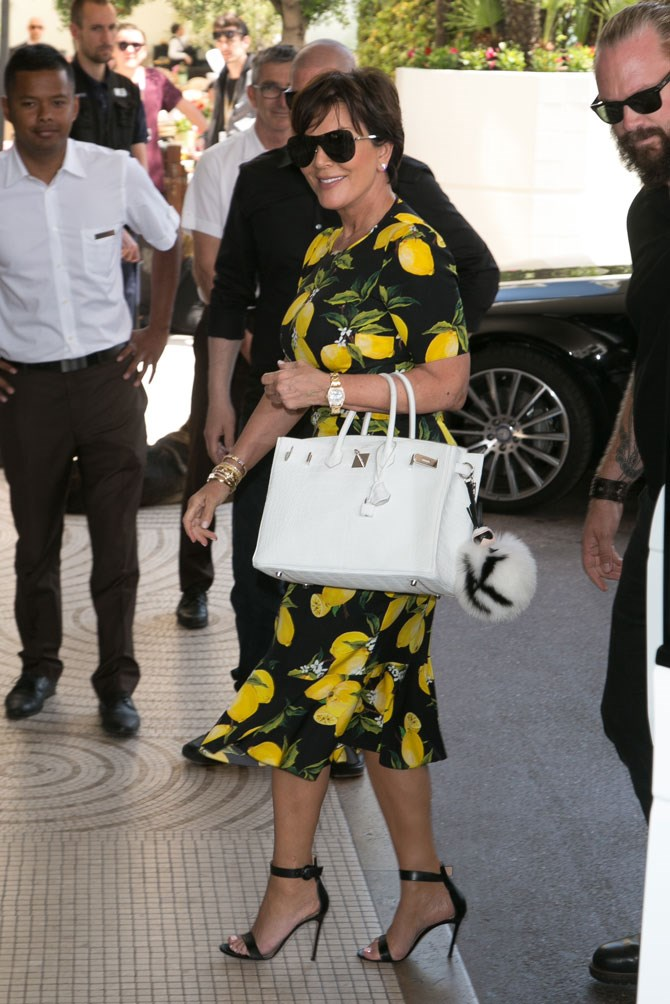 We don't know if she just really loves this Dolce and Gabbana print or if she is actually feeling the 'Lemonade' vibes on a whole other level. We just know we love it. And her.