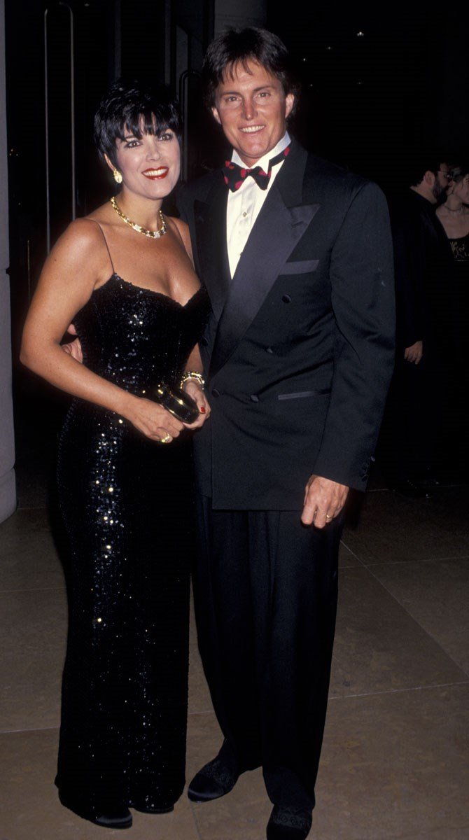 She was just as glam in 1991 as she is today. 'Cause she's Kris f**king Jenner, you guys.