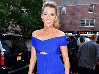"""Blake Lively describes seeing Ryan Reynolds' sex scenes as """"a cruel and unusual form of torture"""""""