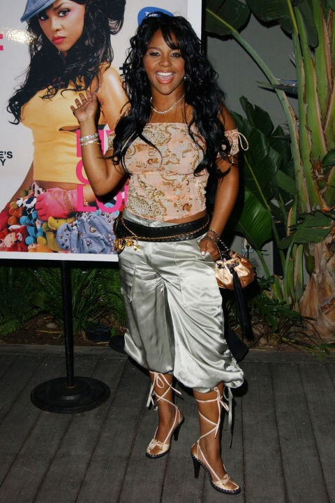 **CROPPED PIRATE PANTS**    *Lil' Kim at a Nylon Magazine Party on May 15, 2003.*