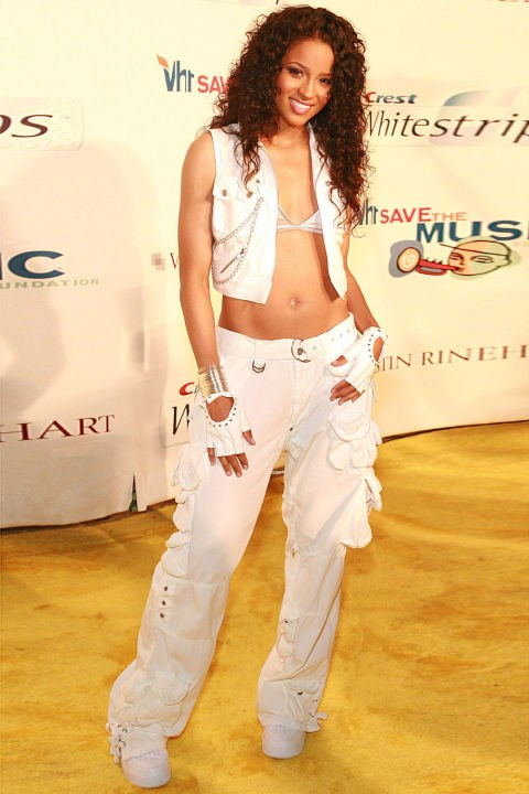 **CARGO PANTS**    *Ciara at a benefit for VH1 Save the Music on July 28, 2006.*