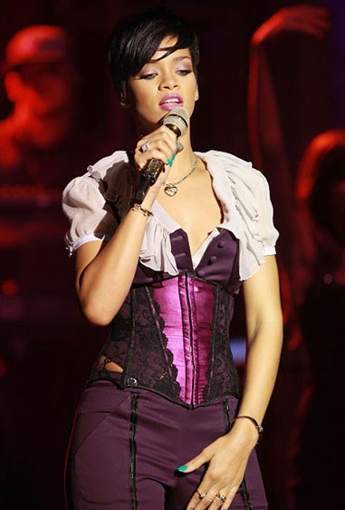 9. This corset is like satin and has sleeves and is extra special.