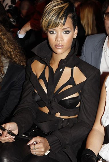 10. By 2010, Rihanna's corsets had evolved into serious *50 Shades of Grey* vibes.