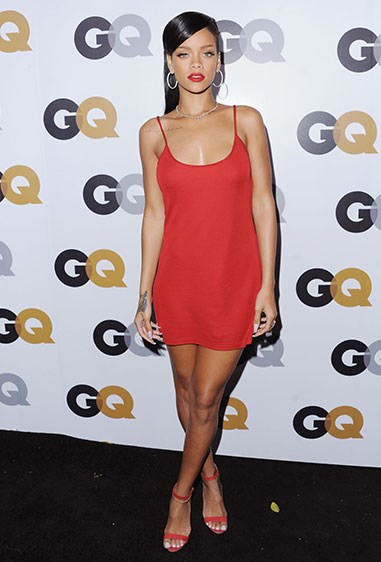 16. Rihanna is making the nightie slip dress happen.