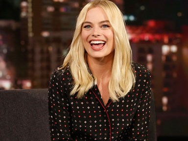 "Margot Robbie just shared ""the most embarrassing photo"" of her whole life"