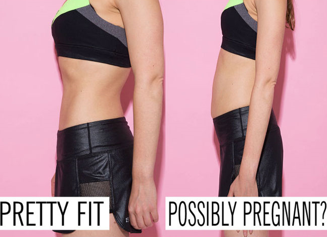 10 photos that prove there's no such thing as a flat stomach