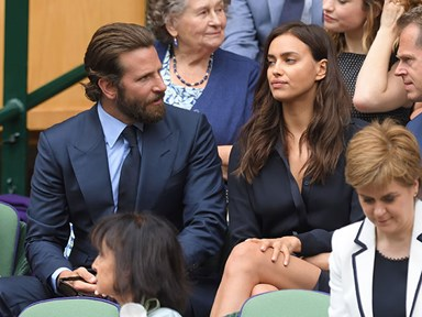 UPDATE: So THIS is why Irina Shayk was weeping at Wimbledon