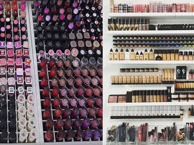 9 of the world's BIGGEST makeup collections guaranteed to make you drool