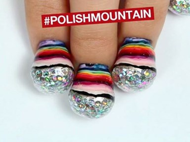 Nail polish mountains are the most ~*mesmerising*~ trend to take over Instagram