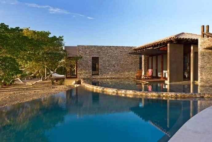"**5. GWYNETH PALTROW** **Worth: £7846** **Sleeps: 12 guests** **Where: Nayarit, Mexico** Situated on the beachfront in St. Regis, Mexico, Gwyneth holidayed here in January 2016 with her boyfriend and children. It accommodates 12 people, has 7 bathrooms and 6 bedrooms as well as TWO outdoor infinity pools and a Tucari Yoga room. Oh wow. ([via](https://www.airbnb.co.uk/rooms/10591470|target=""_blank""))*"