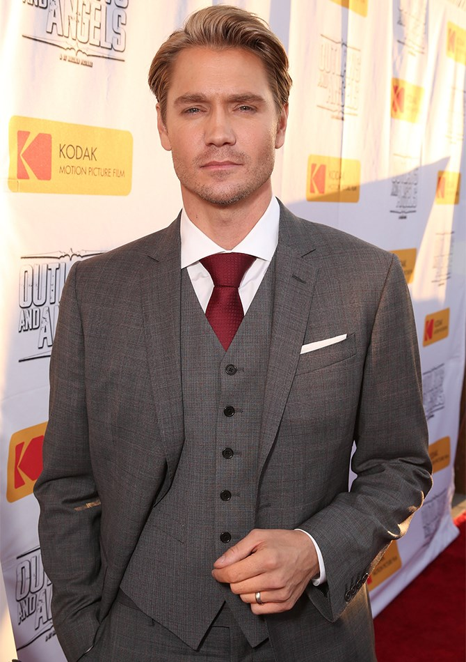 Awesome news alert: Chad Michael Murray aka the love of your life circa 2005 is back on the celebrity circuit promoting his new movie *Outlaws and Angels*, and he's still just as hot as he was in his *One Tree Hill* glory days – perhaps even hotter.