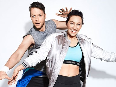 Hamish Blake twerking with Zoe Foster in the new Bonds ad will give you LIFE