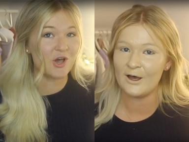 Watch this beauty vlogger apply 100 layers of foundation and have nightmares for eternity