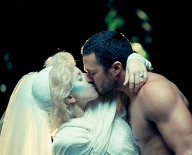 30. After Taylor turns Gaga into a mermaid, he married her, Why not IRL :(
