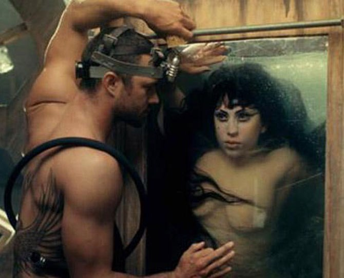 29. Where it all began. Gaga casted Taylor as an evil doctor for her 2012 music video You and I.